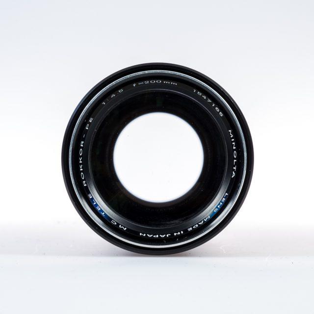 Minolta MC Tele Rokkor 4,5_200mm